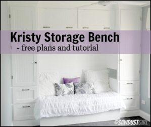 Kristy storage bench