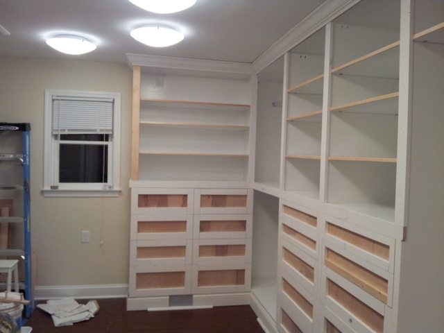 Custom closets - building built-in wardrobes