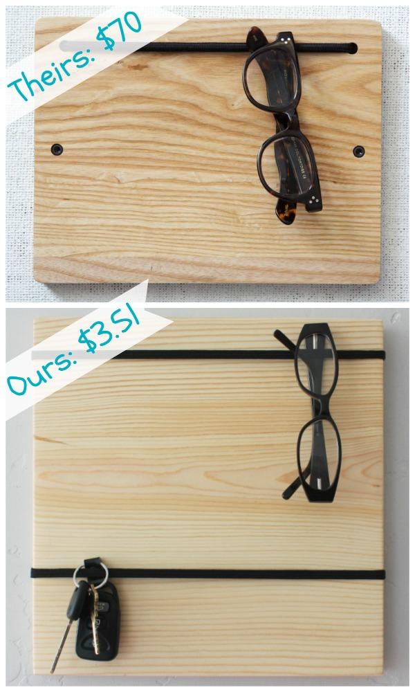 Super cheap and easy DIY Organizer Board