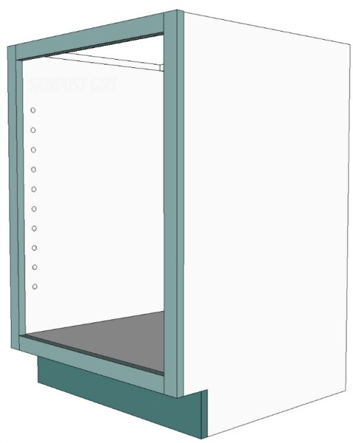 How to build a kitchen cabinet with dado joints