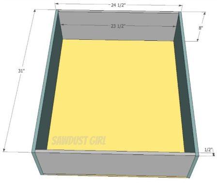 Build it: Queen Platform Storage Bed
