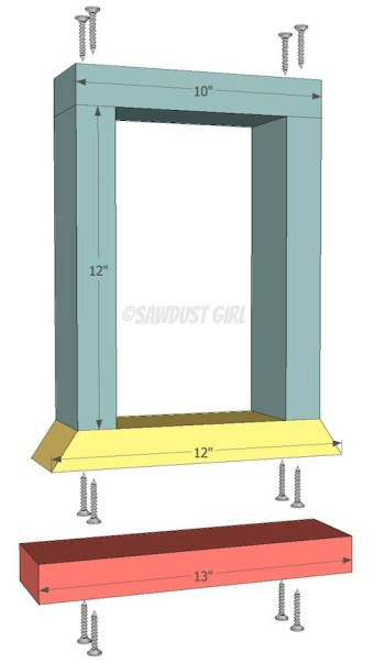 Building a wood dining bench