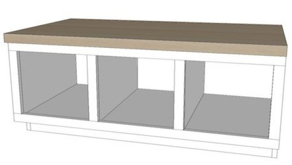 Built in Bench Plans