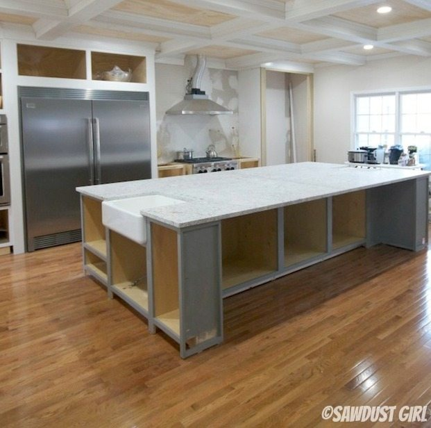 Countertop Colors With White Cabinets: White Granite Countertops- And Cabinet Color Revealed