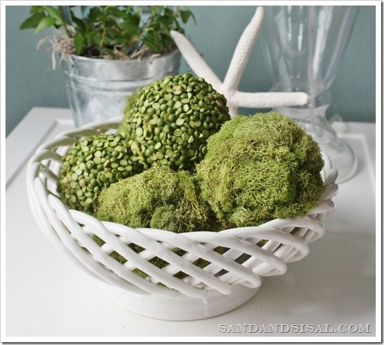 Diy Decor Balls: Spring Decorating With Moss
