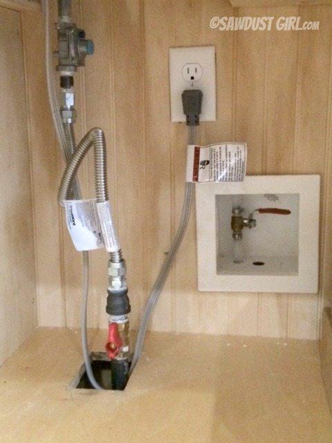 Kitchen Pot Filler - water shut-off