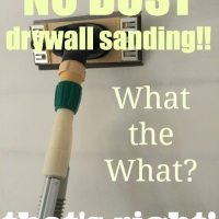 dust-free drywall sanding