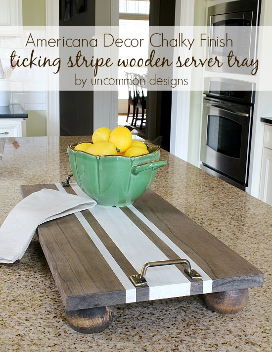 Diy Serving Tray Great Ideas For Hostess Gifts Sawdust