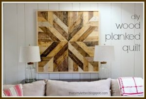 Wood Planked Quilt
