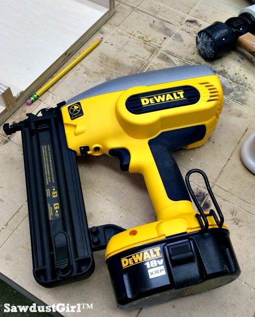 Dewalt Battery Powered Nail Gun Workshop Favorite