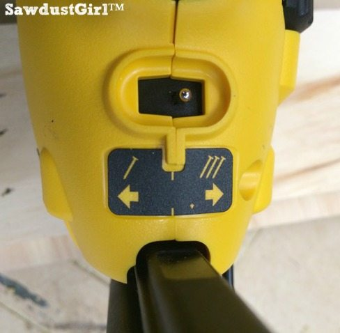 DeWalt nail gun switch for single shoot or bump trigger