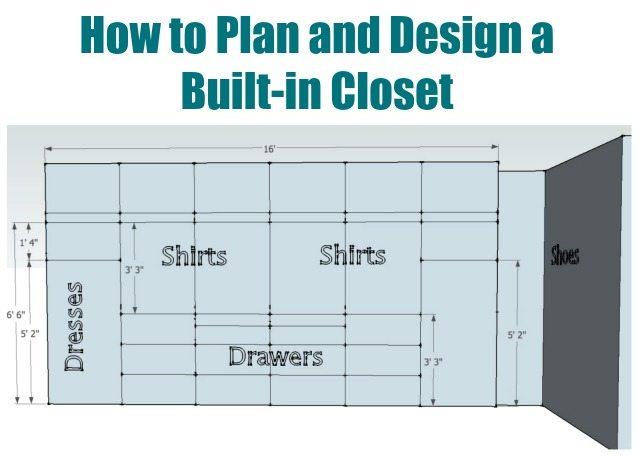 How to plan your closet design