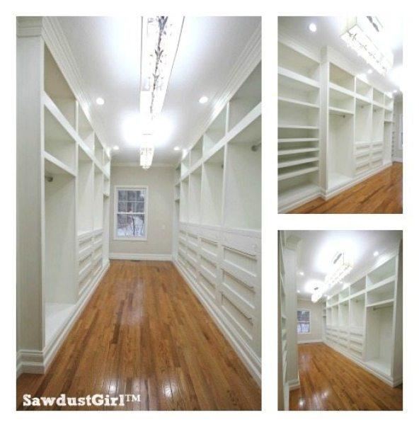 Plan your walk in closet design