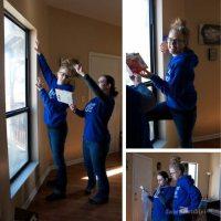 Winterize with window shrink film