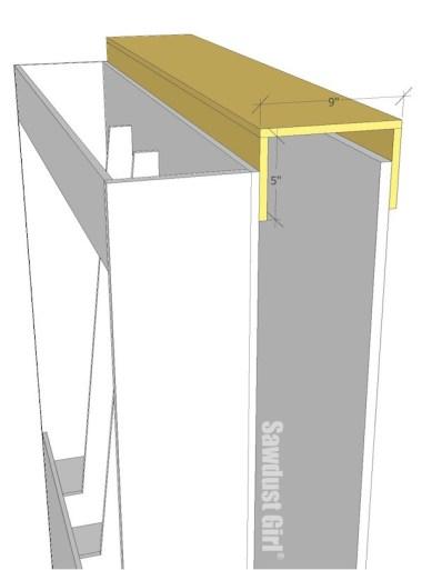 Lumber Storage Unit on Wheels - step8