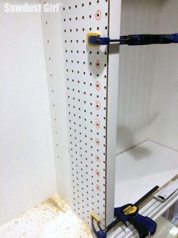DIY Jig for drilling Shelf Pin Holes