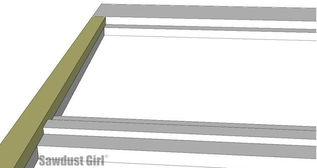 Build a diy platform bed frame with these free woodworking plans