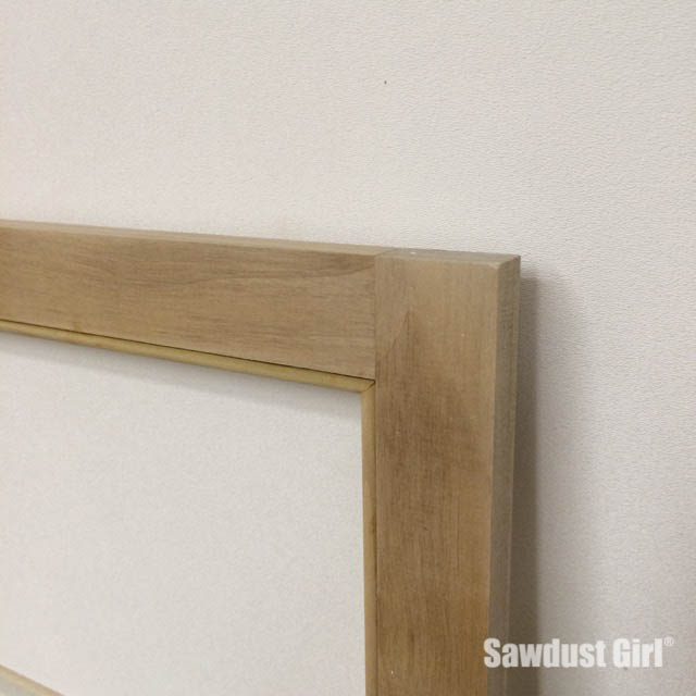Make a beaded face frame