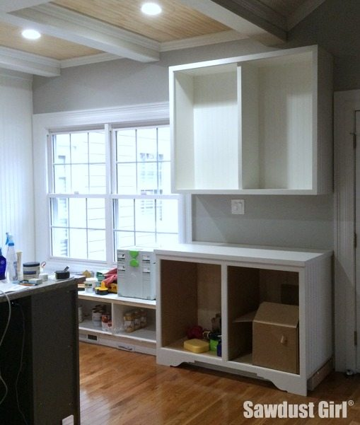 Adding a decorative toe-kick to cabinets and built-ins