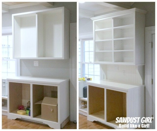 """We all want to know How to Install Crown Molding on Cabinets. It addsa big visual impact and brings really ampsthe """"sophistication factor"""" up a notch."""