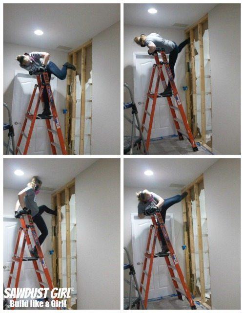 Kicking down walls!