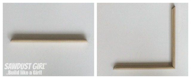 Adding beading to a faceframe