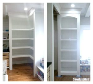 Pantry to display cabinet