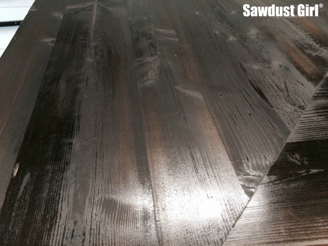 How to make inexpensive wood look rich and luxurious.