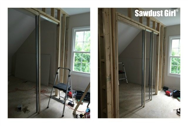 How To Install A Pocket Door Frame Sawdust Girl 174