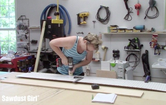 Building and Installing Pantry Cabinets