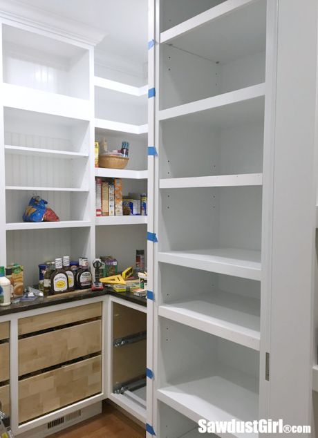 How to add faceframe to adjustable shelves