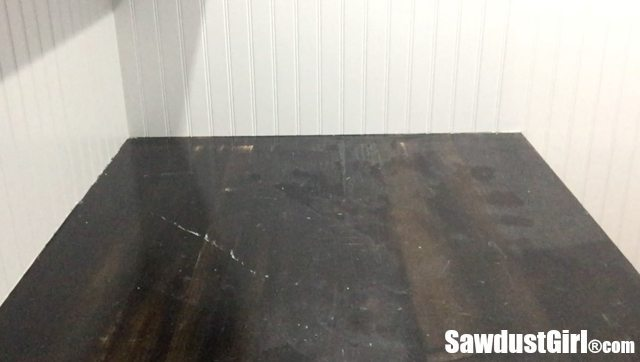 Refinishing a wood countertop