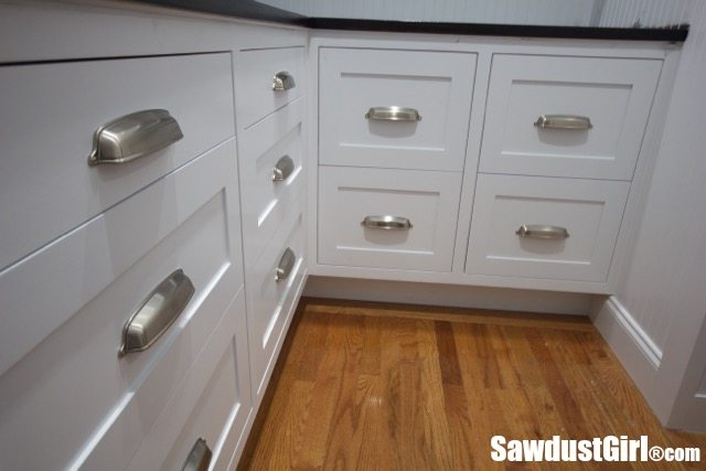 How To Install Cabinet Drawer Fronts Sawdust Girl 174