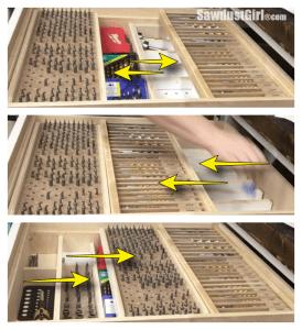 Multi Function Modular Storage Organizer Drawer