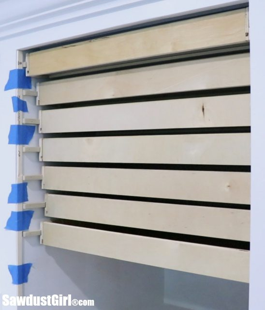 Map Drawers - Installing Adjustable Drawer Fronts