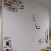 Chipped Plaster Brick Wall - Faux Technique