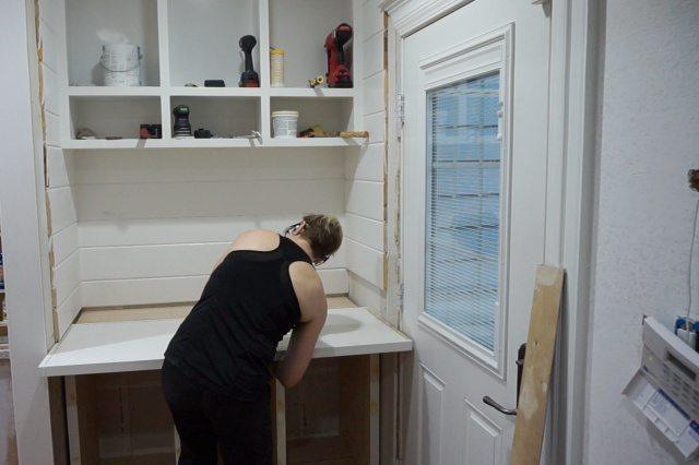 Building Drop Zone Cabinet