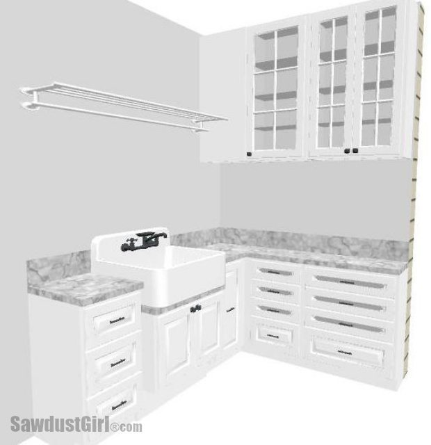 Utility Sink Area Design