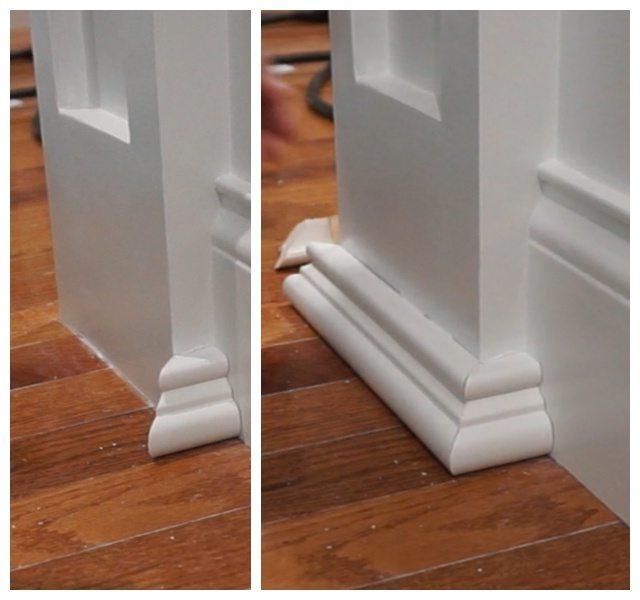 Column base mould