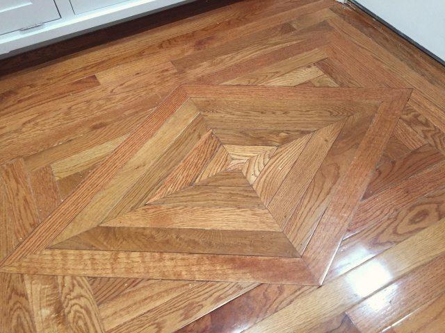 Replacing Wood Floor Decorative Insert