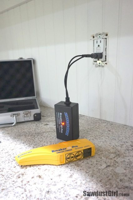 Using a circuit finder