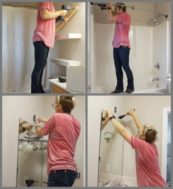 Jack-and-Jill bathroom remodel