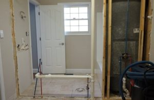 Jack and Jill bathroom remodel