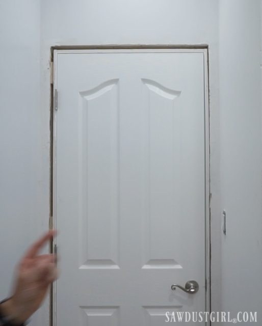 Installing doors and door casings