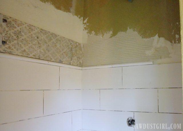 Tiling the Shower
