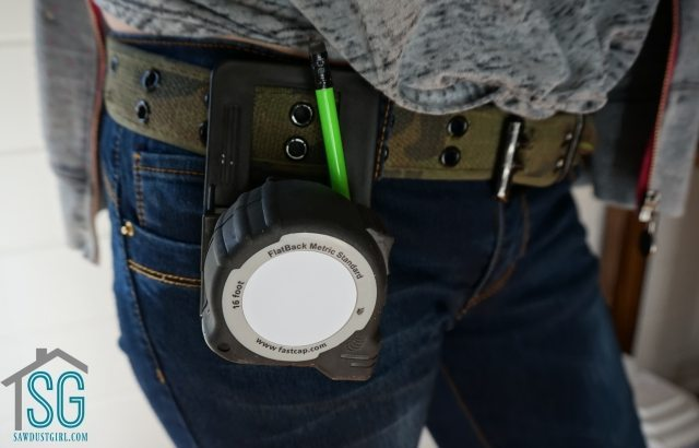 Speed Clip -Tape Measure Holder