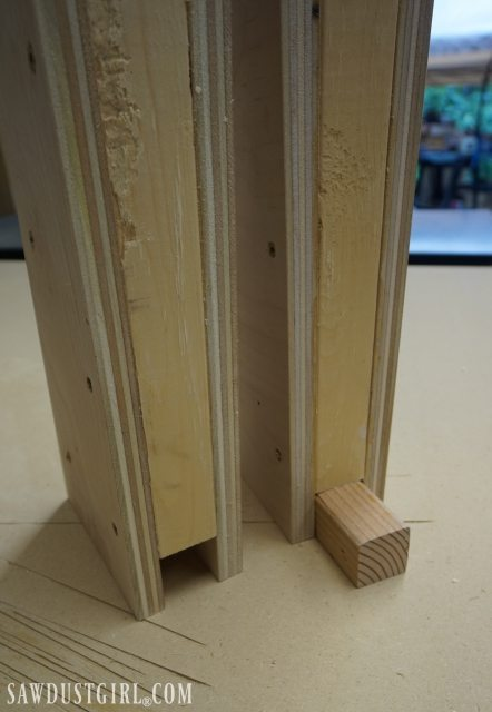 Building Cantilevered Shelf Brackets