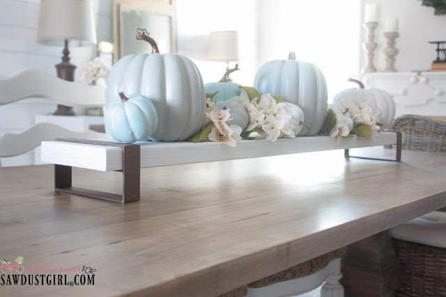 DIY Wood and Steel Table Centerpiece - Leraning to Braze