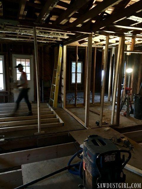 Calderwood Cottage renovation