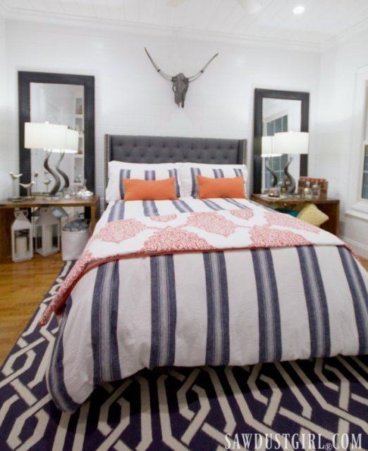 Little guest bedroom design.